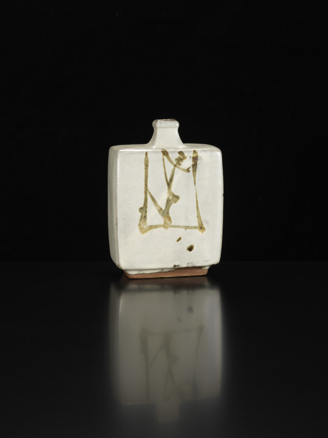Shoji Hamada, White Bottle, 1965