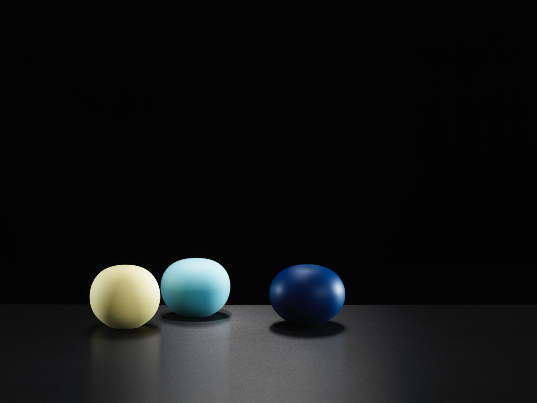 Niisato Akio, White Porcelain Sphere, 2019