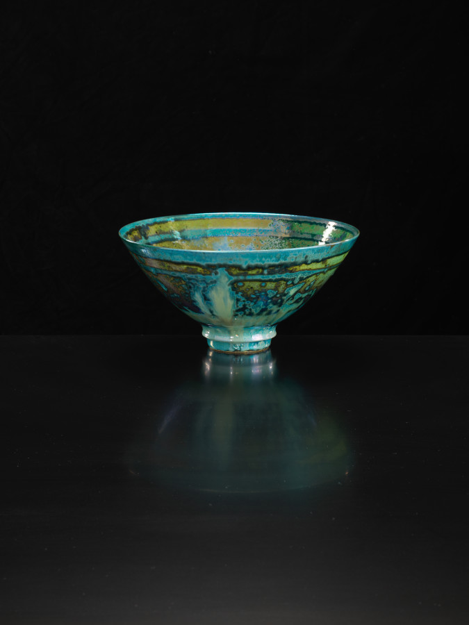 Sutton Taylor, Green Flared Bowl, 2018