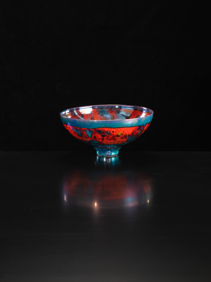 Sutton Taylor, Red and Black Bowl, 2018