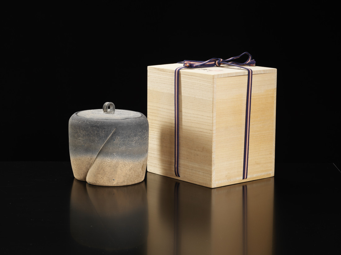 Kenji Gomi, 彩土器 ふたもの Fresh Water Jar
