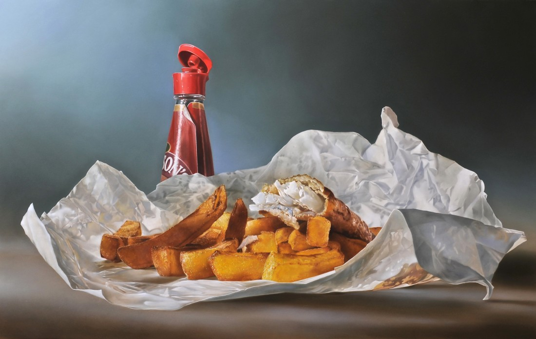 Tjalf Sparnaay, Fish and Chips