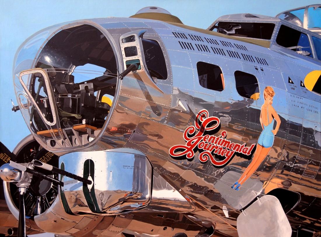 Luis Perez, B-17 Sentimental Journey