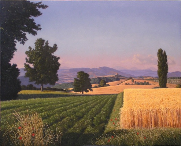 David ligare, Georgic Landscape