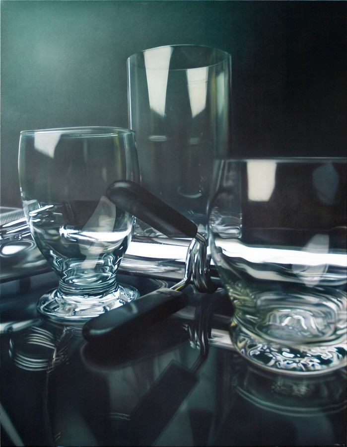 Tom Martin, Three Glasses