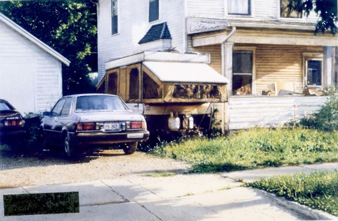 John Salt, Porch and Camper Van