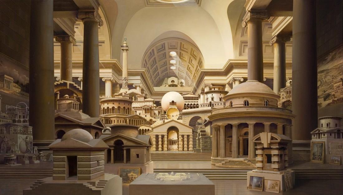 Carl Laubin, ARCHITECTURE PARLANTE