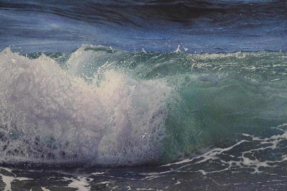 Antonis Titakis, Crashing Wave, 2016