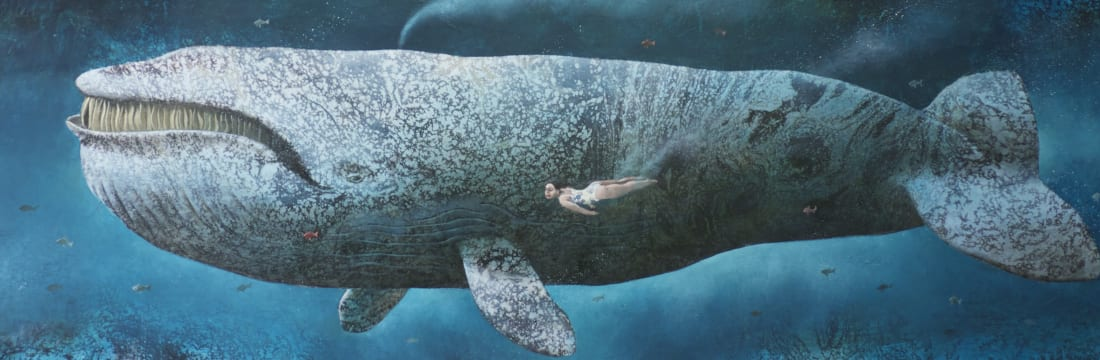 Sylvain Lefebvre, Carmen meeting a Right whale, 2019