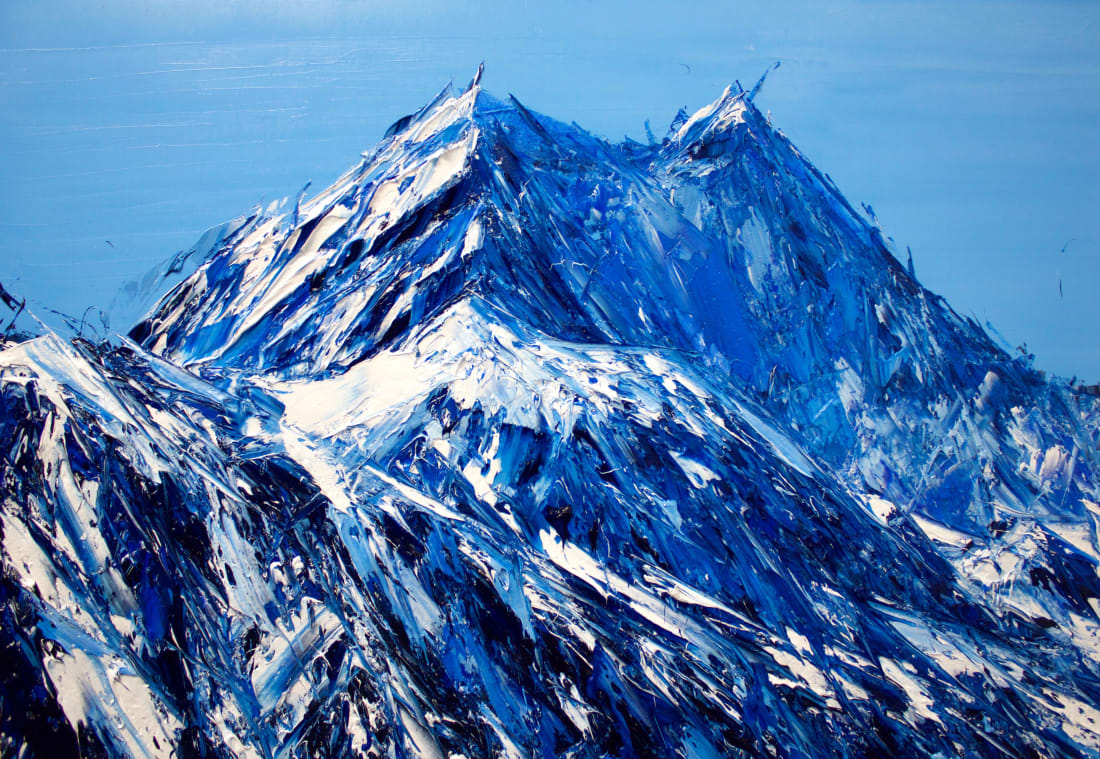 Holly Zandbergen, Gazing At Aoraki, 2019