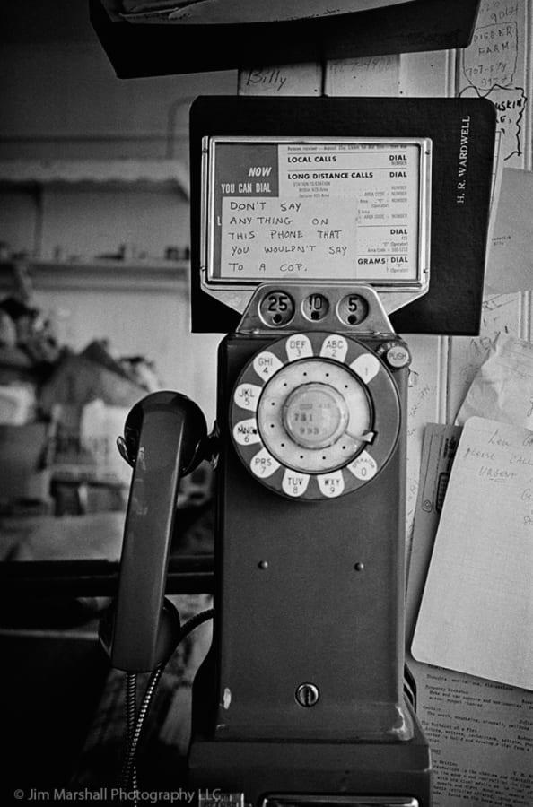 Jim Marshall, Telephone Haight Ashbury, 1967