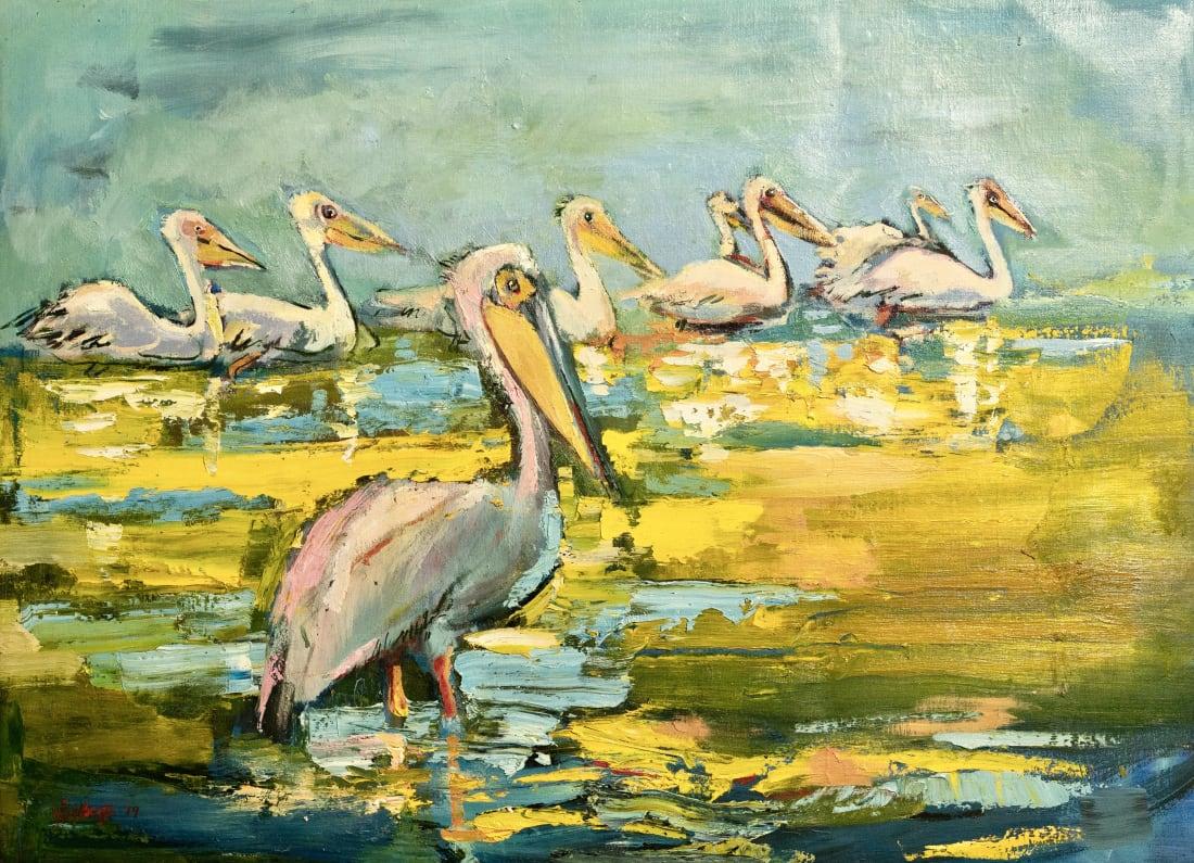 Sophie Walbeoffe, The Pelican, 2019