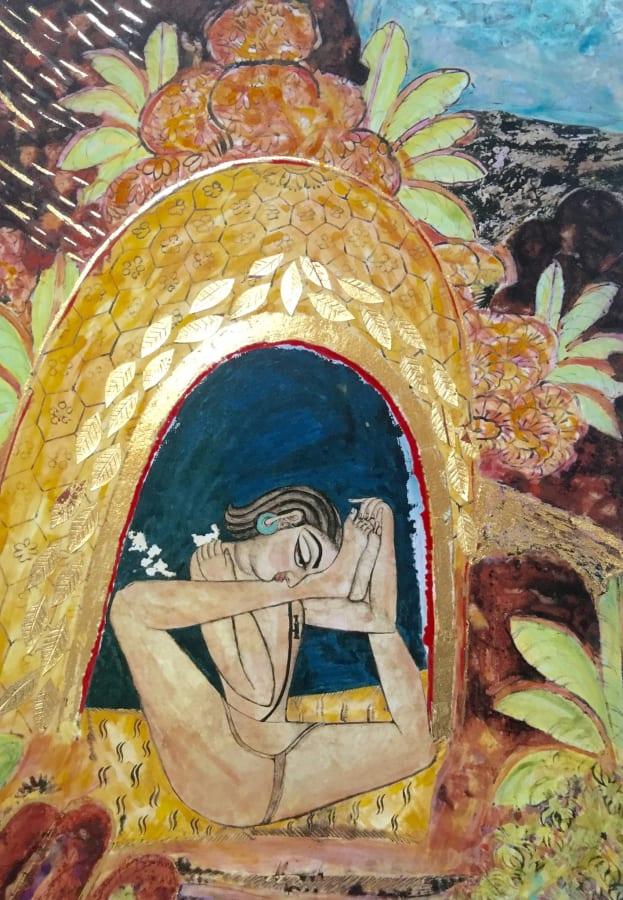 Katherine Virgils, Yogi Medium No. 61, 2016