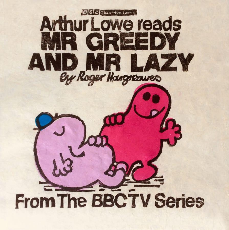 Andrew Mockett, Mr. Greedy and Mr. Lazy, 2018