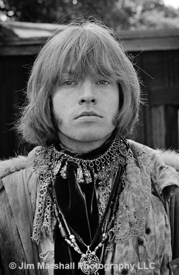 Jim Marshall, Brian Jones at Monterey Pop Festival, 1967