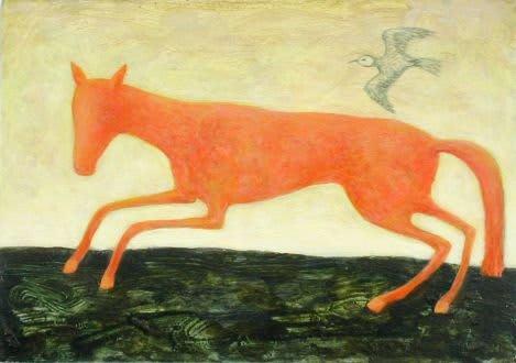 Alasdair Wallace, Horse and Bird, 2005