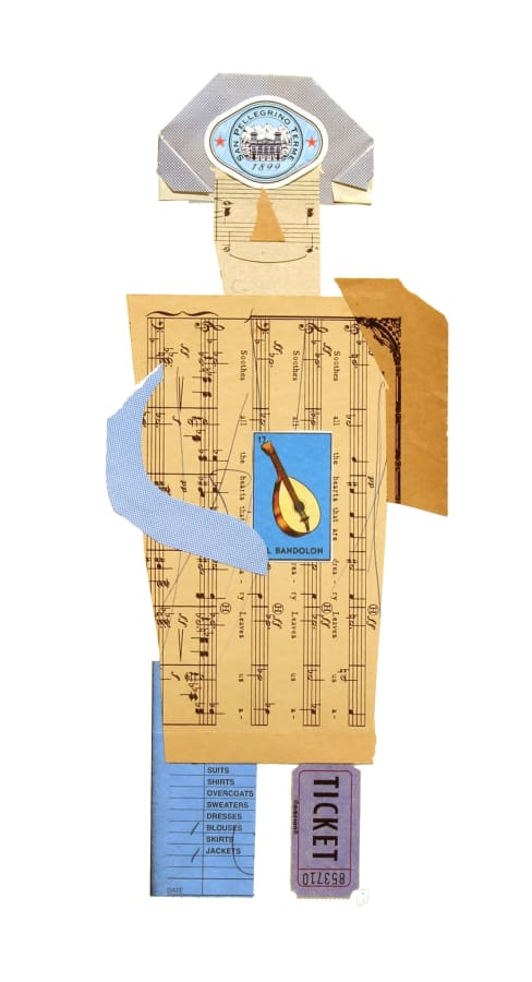 Jerry Jeanmard, Musicmaker (Paper People 22), 2015