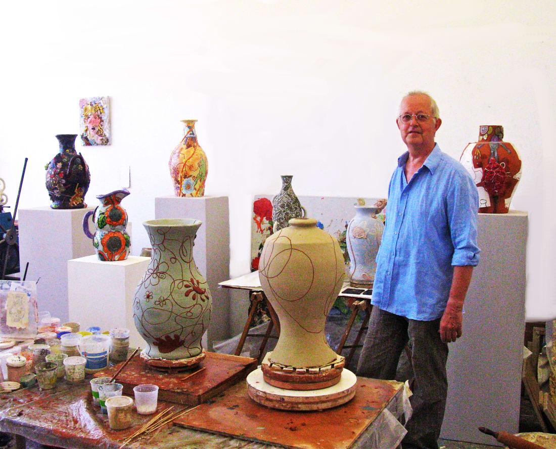 Fons van Laar, Fons in the Studio