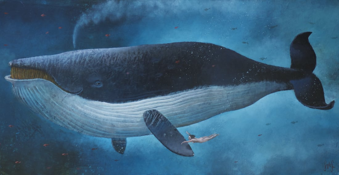 Sylvain Lefebvre, Sonora and the right whale, 2020
