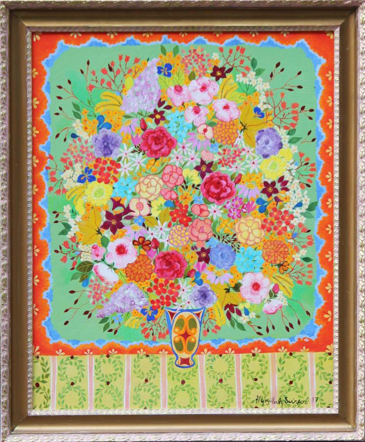 Hepzibah Swinford, Wild Roses, 2017