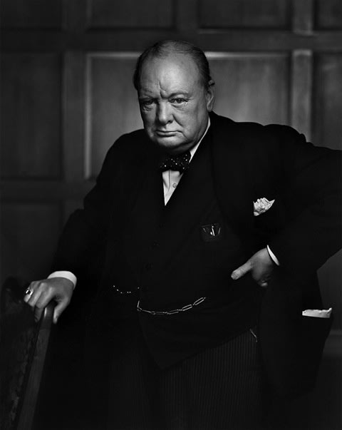 Yousuf Karsh, Winston Churchill, 1941