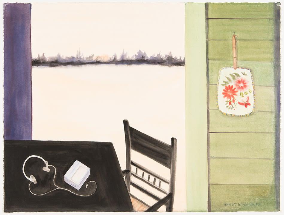 Ann MacIntAnn MacIntosh Duff, Listening, c. 2013osh Duff, Blue Horizon, 1989