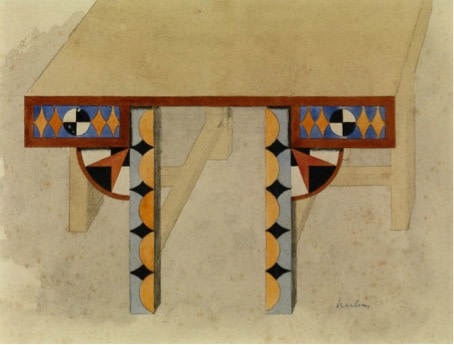 "<span class=""title"">Study for a table<span class=""title_comma"">, </span></span><span class=""year"">1920 - 1921</span>"