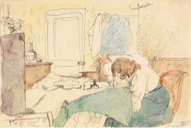 <span class=&#34;title&#34;>Hermine Drawing<span class=&#34;title_comma&#34;>, </span></span><span class=&#34;year&#34;>1908</span>
