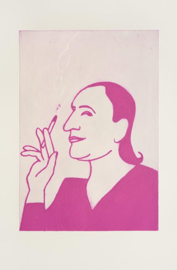 "<span class=""artist""><strong>Kate Boxer</strong></span>, <span class=""title""><em>Muriel Belcher (Mounted)</em></span>"