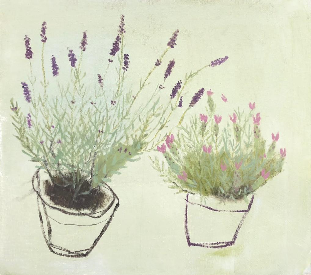 <span class=&#34;artist&#34;><strong>Jenny Lock</strong></span>, <span class=&#34;title&#34;><em>Lavenders</em></span>