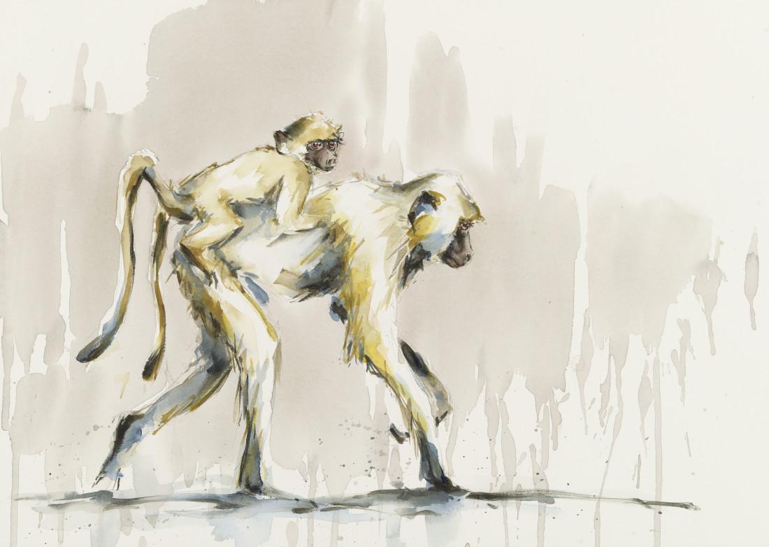 """<span class=""""artist""""><strong>Julia Cassels</strong></span>, <span class=""""title""""><em>Piggy Back</em></span>"""