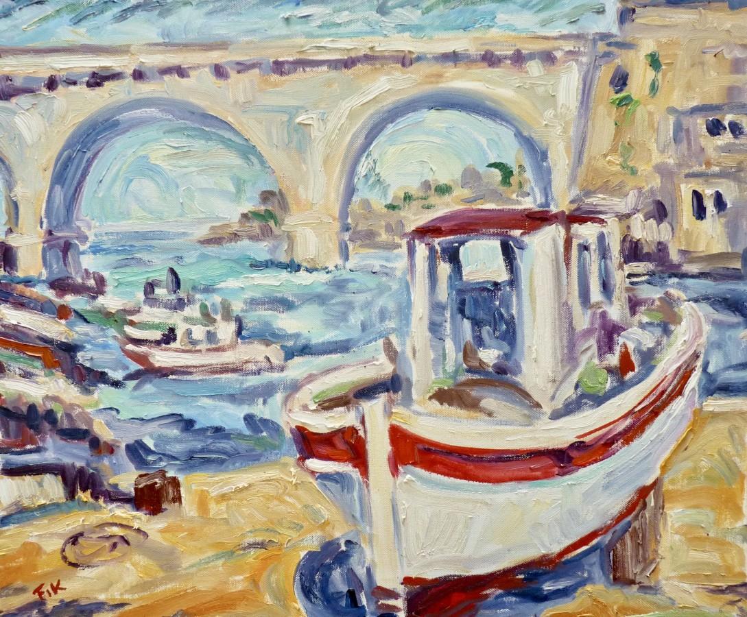 <span class=&#34;artist&#34;><strong>Fi Katzler</strong></span>, <span class=&#34;title&#34;><em>Vallon des Auffes</em></span>