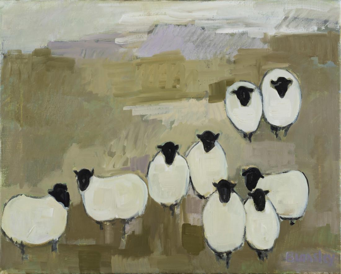 "<span class=""artist""><strong>Bridget Lansley</strong></span>, <span class=""title""><em>Guarding the Moors</em></span>"