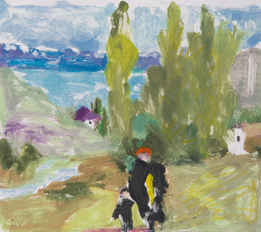 "<span class=""artist""><strong>Dione Verulam</strong></span>, <span class=""title""><em>Spring Walk Armenia (London Gallery)</em></span>"