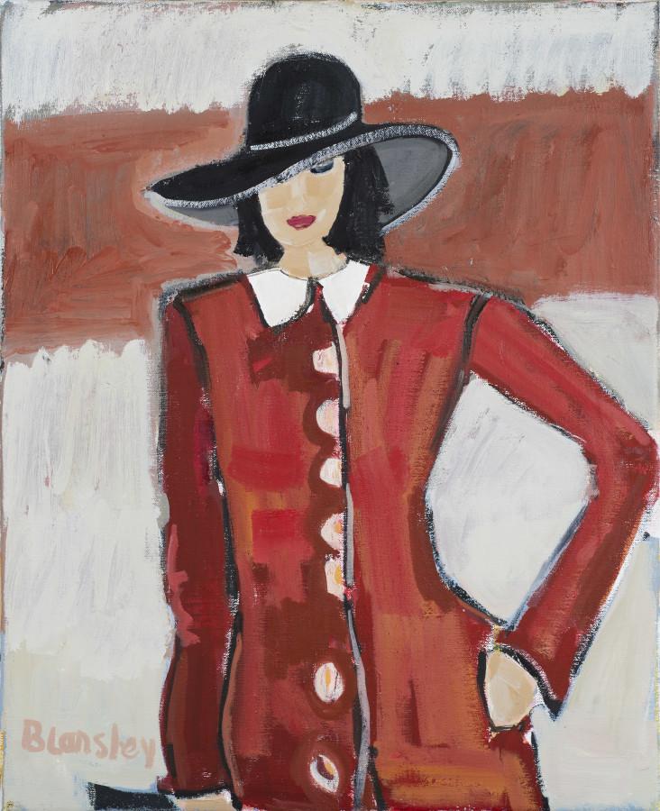 Bridget Lansley, Lady in Red
