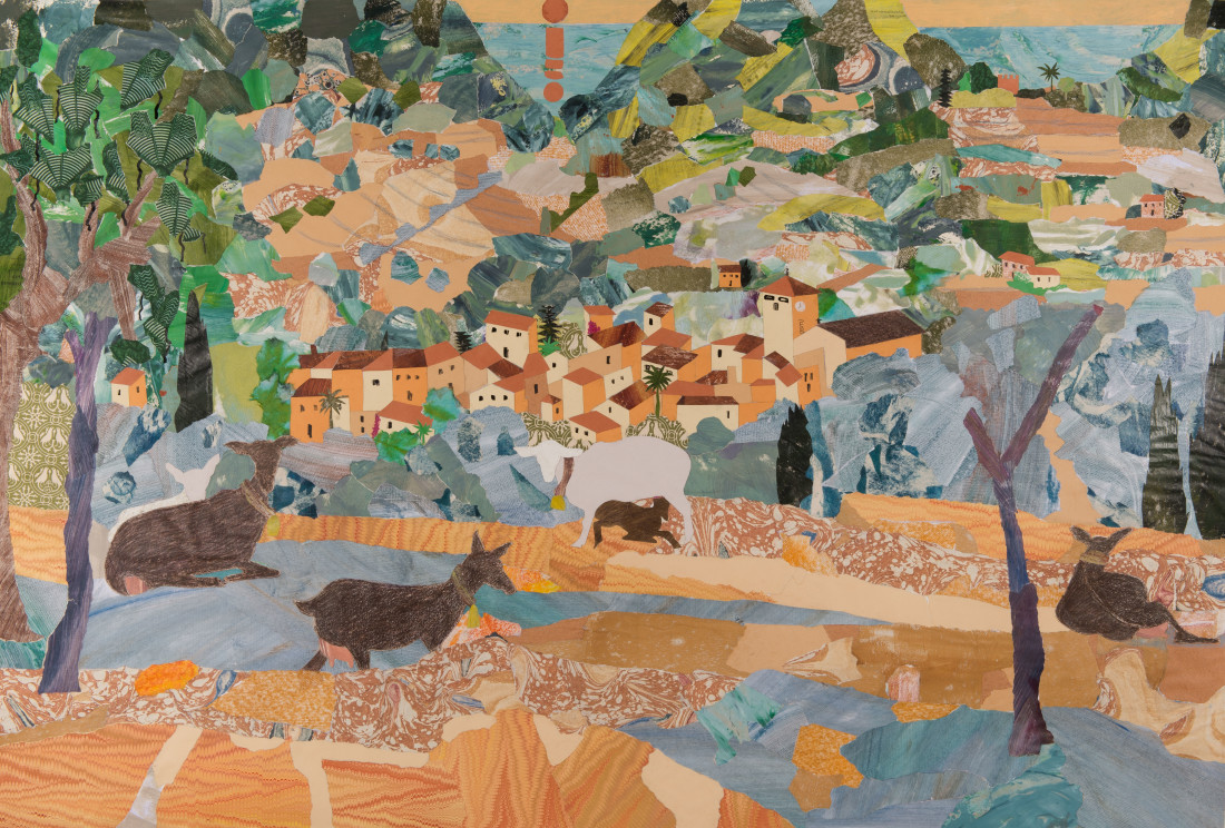 "<span class=""artist""><strong>Dione Verulam</strong></span>, <span class=""title""><em>Above the Village, Estellencs, Mallorca </em></span>"