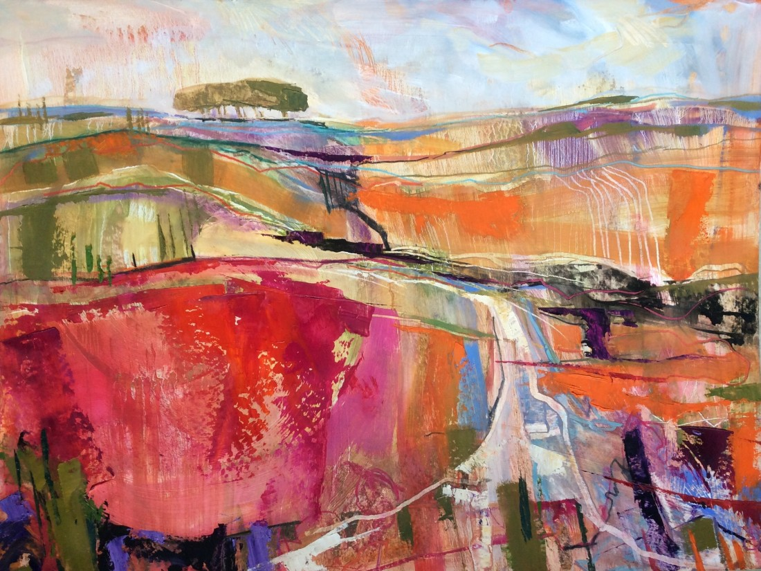 <span class=&#34;artist&#34;><strong>Emma Haggas</strong></span>, <span class=&#34;title&#34;><em>Autumn Trees on Salisbury Plain</em></span>