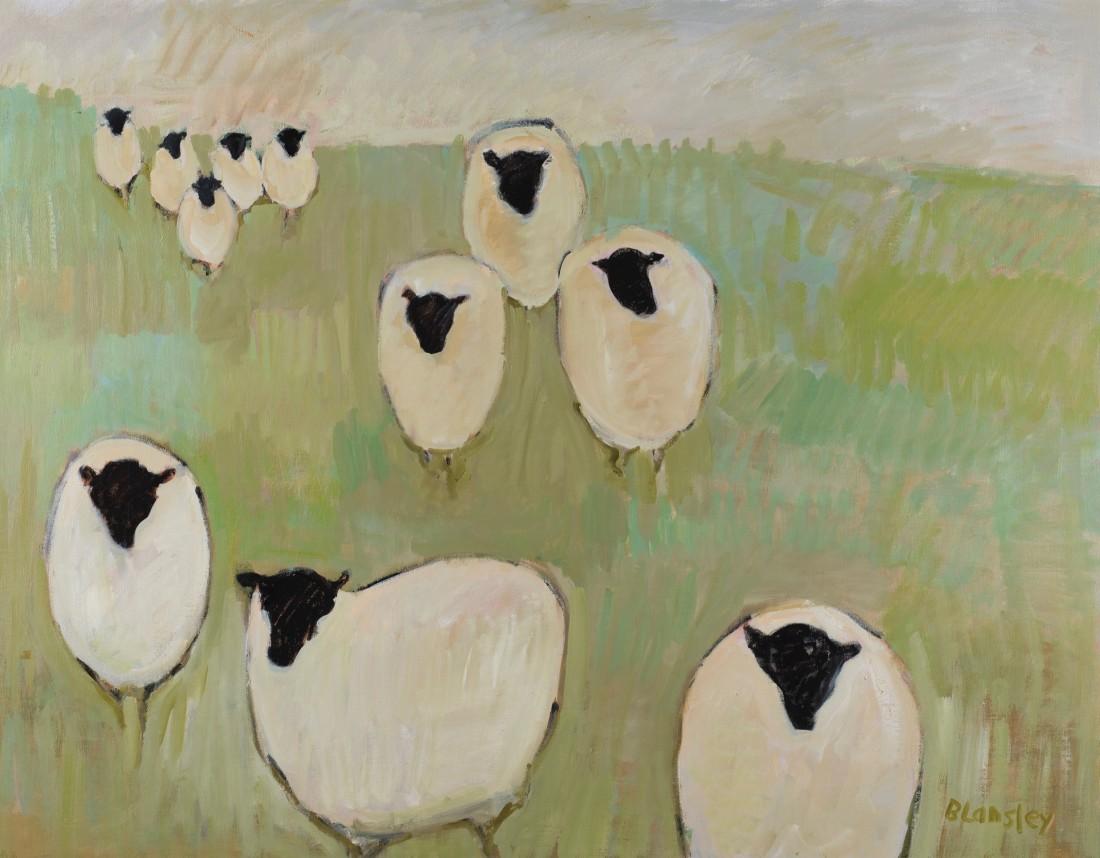 "<span class=""artist""><strong>Bridget Lansley</strong></span>, <span class=""title""><em>Feeding Time</em></span>"
