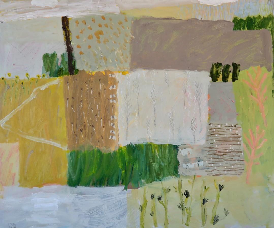 "<span class=""artist""><strong>David Pearce</strong></span>, <span class=""title""><em>Sunflowers and Saddlebacks </em></span>"