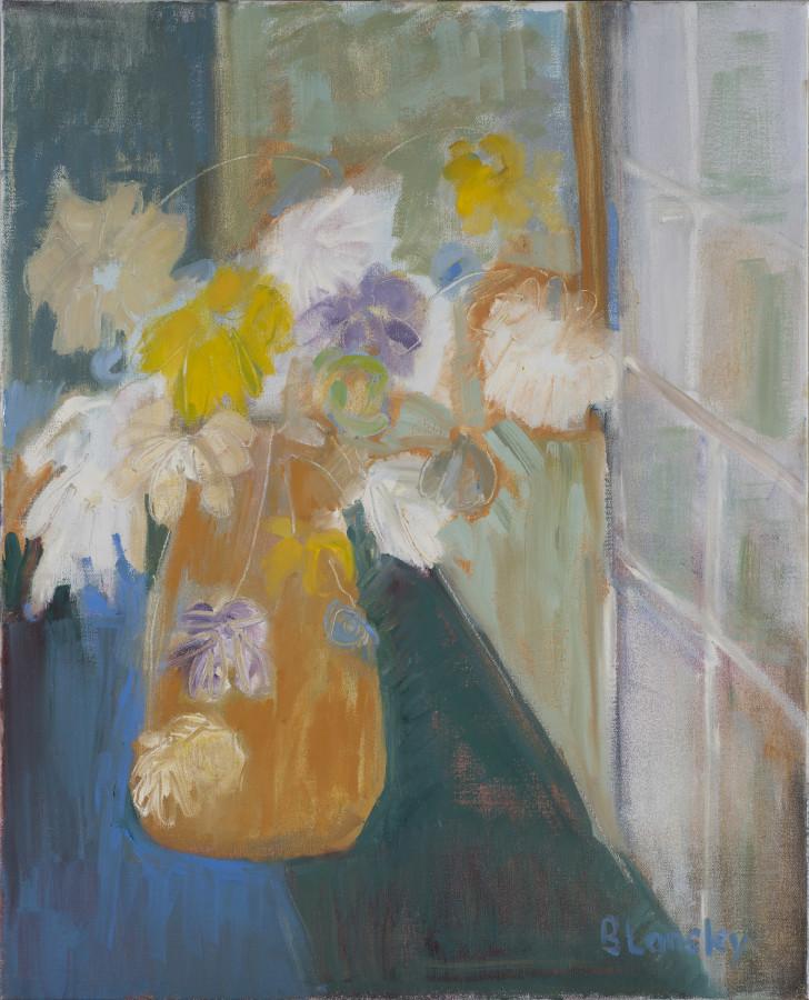 "<span class=""artist""><strong>Bridget Lansley</strong></span>, <span class=""title""><em>Through the Window</em></span>"