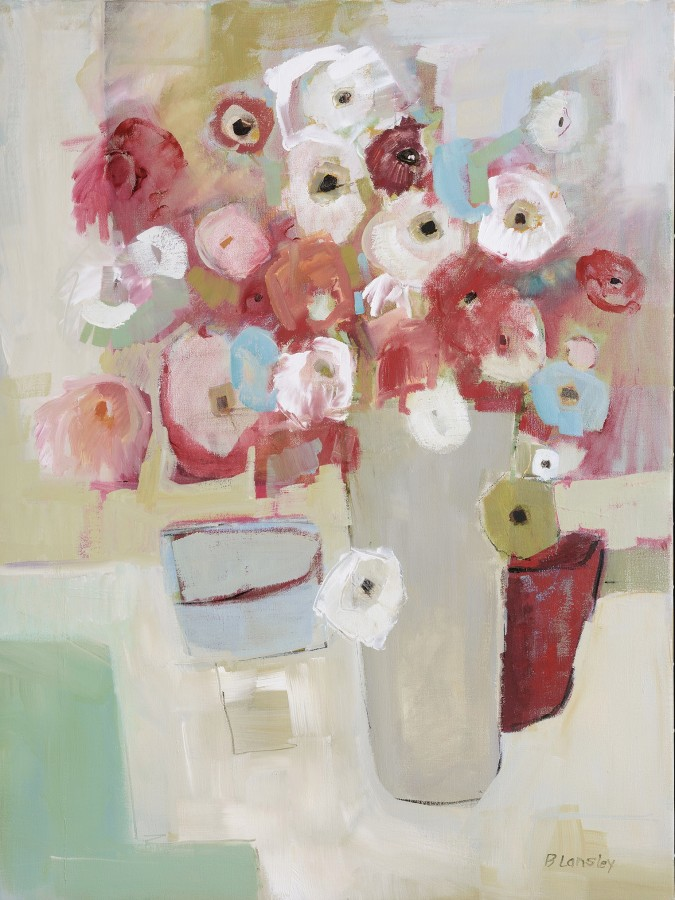 <span class=&#34;artist&#34;><strong>Bridget Lansley</strong></span>, <span class=&#34;title&#34;><em>Pink Profusion</em></span>