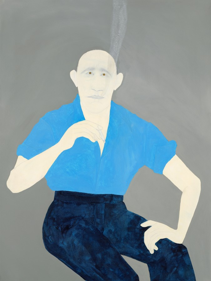 "<span class=""artist""><strong>Kate Boxer</strong></span>, <span class=""title""><em>Jean Genet</em></span>"