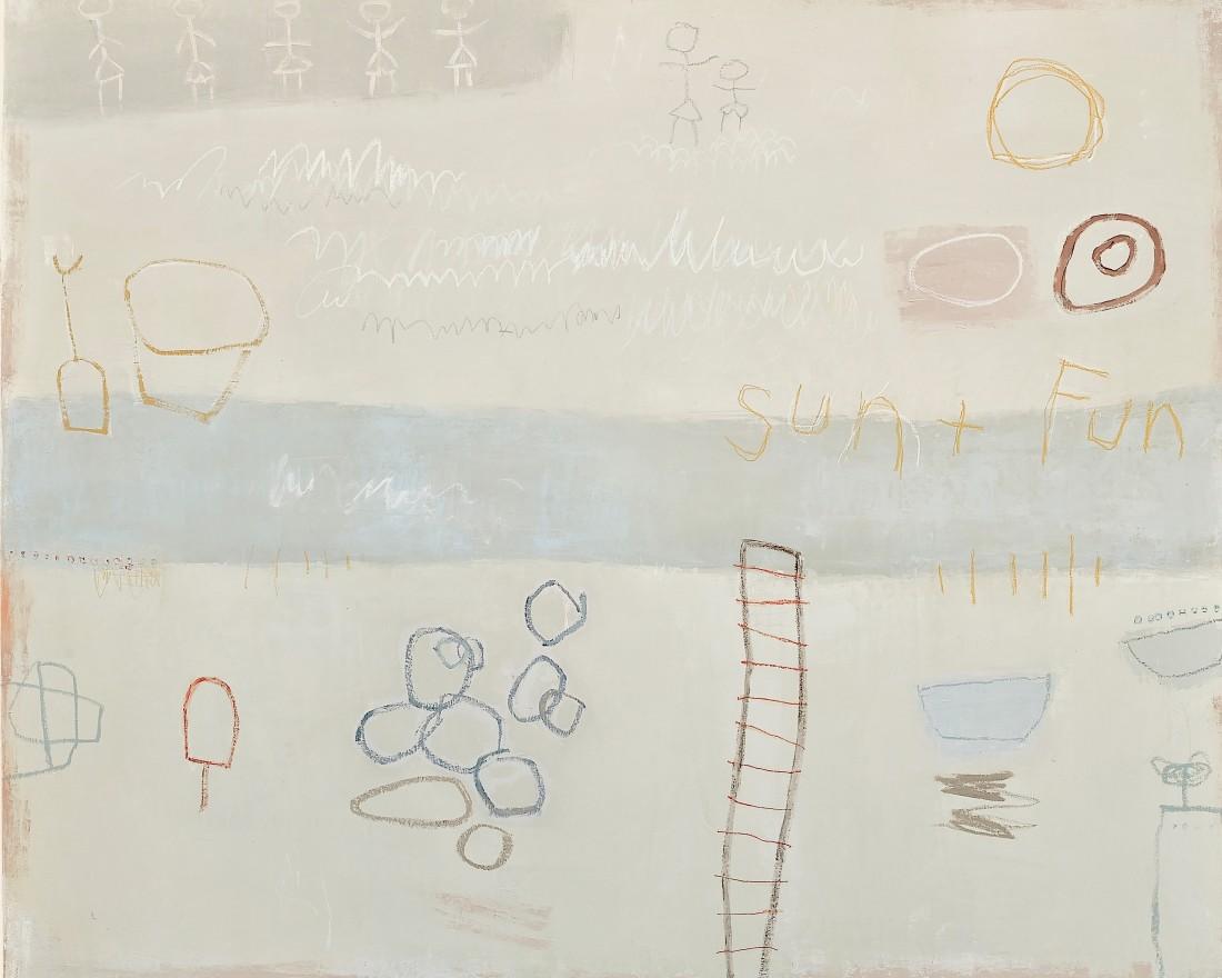 <span class=&#34;artist&#34;><strong>Jenny Lock</strong></span>, <span class=&#34;title&#34;><em>Fun in the Sun</em></span>