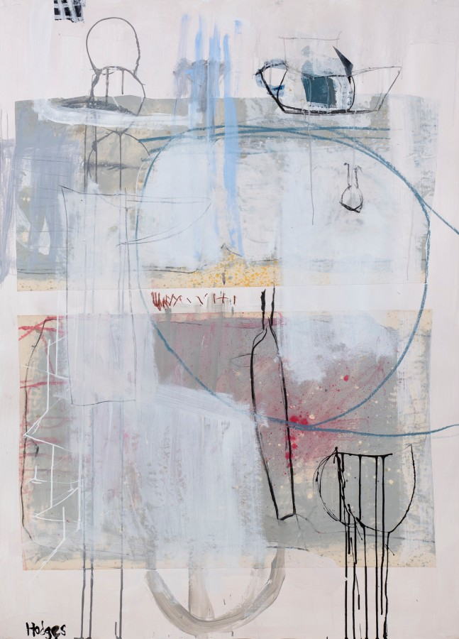 "<span class=""artist""><strong>Felice Hodges</strong></span>, <span class=""title""><em>Still Life: Metallic Rose</em></span>"