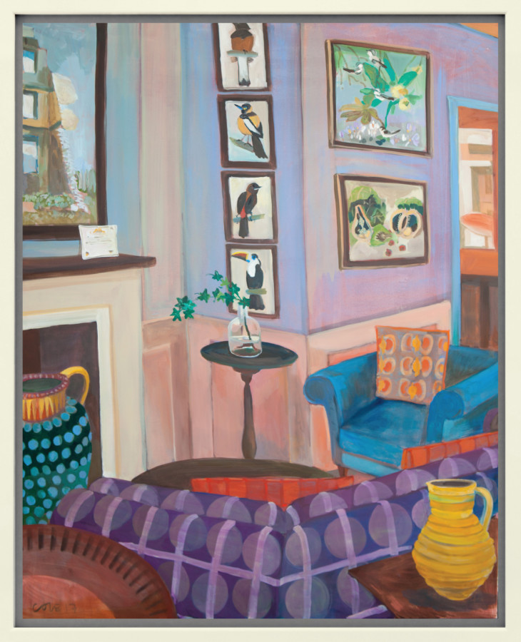 <span class=&#34;artist&#34;><strong>Lottie Cole</strong></span>, <span class=&#34;title&#34;><em>Interior with John Armstrong, Simon Bussy and Cedric Morris</em></span>