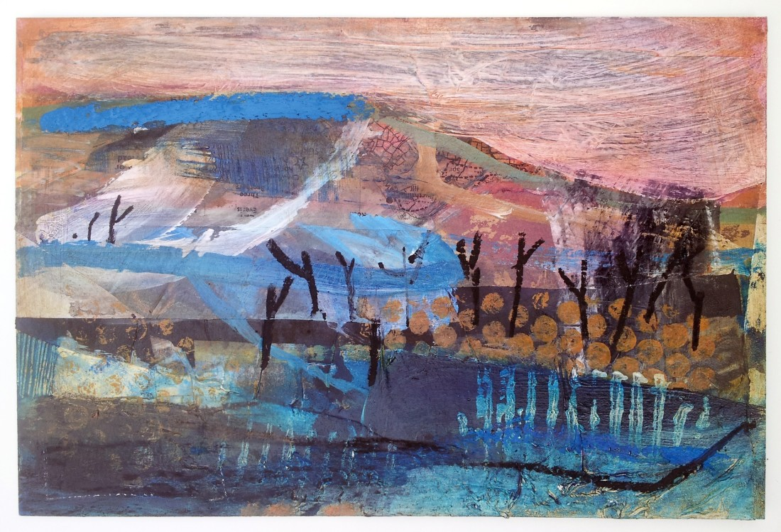 """<span class=""""artist""""><strong>Liz Hough</strong></span>, <span class=""""title""""><em>Trink - Evening</em></span>"""