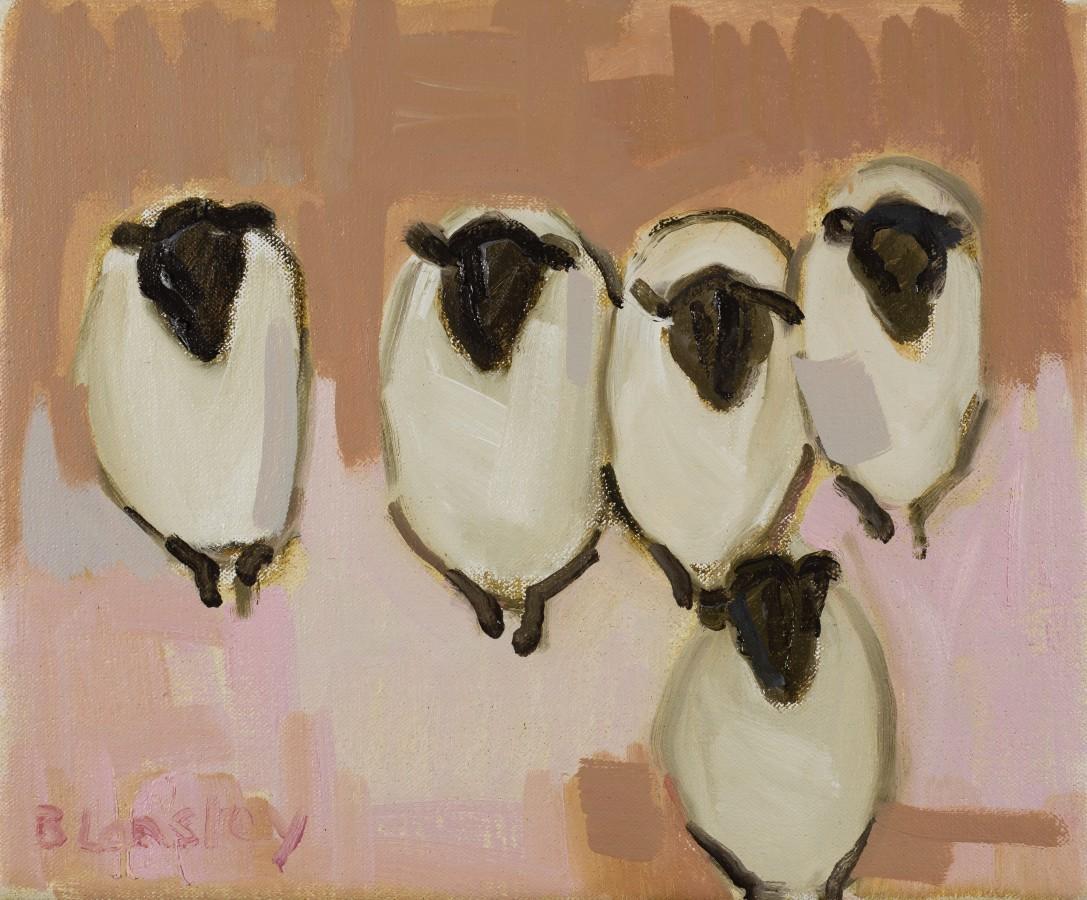 "<span class=""artist""><strong>Bridget Lansley</strong></span>, <span class=""title""><em>Happy Ewes</em></span>"