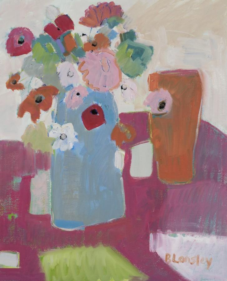 "<span class=""artist""><strong>Bridget Lansley</strong></span>, <span class=""title""><em>Pretty in Pink</em></span>"