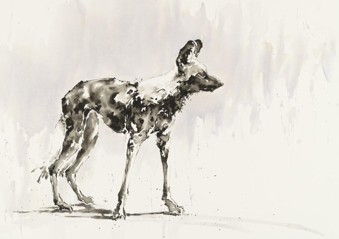 """<span class=""""artist""""><strong>Julia Cassels</strong></span>, <span class=""""title""""><em>Dog Days</em></span>"""