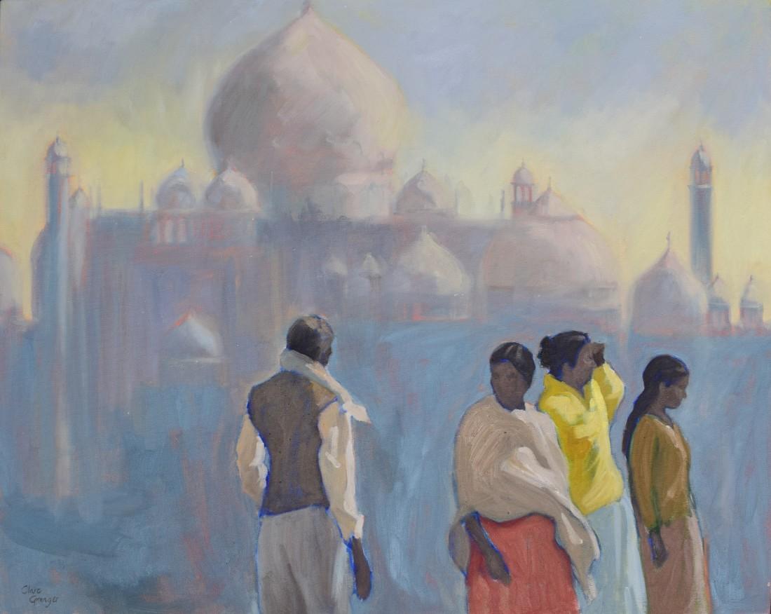 "<span class=""artist""><strong>Clare Granger</strong></span>, <span class=""title""><em>Towards the Taj Mahal</em></span>"
